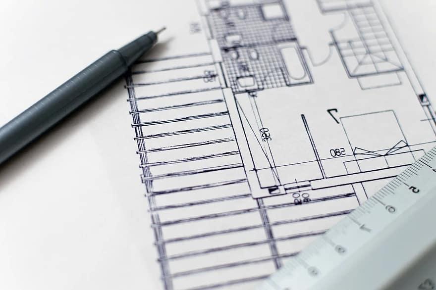 Para reformar una casa, uno de los consejos es que cuentes con un diseño de la obra que quieres realizar